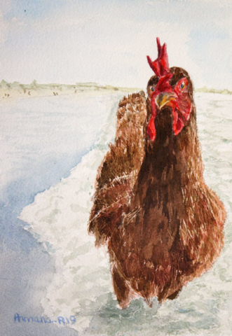Armana Alexandra aquarelle