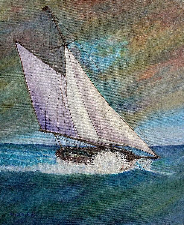 Peinture a l huile Armana